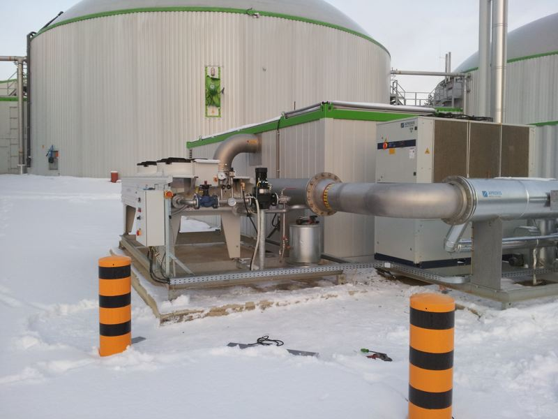 Pressure booster stations from Gastechnik Himmel